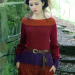 Sweater from the Louisa Harding Orielle Booklet