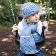 Ulli Hat and Scarf from Close Knit Gang