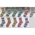 Austermann Step Irish Rainbow Colours 2 - 4 ply Sock Yarn