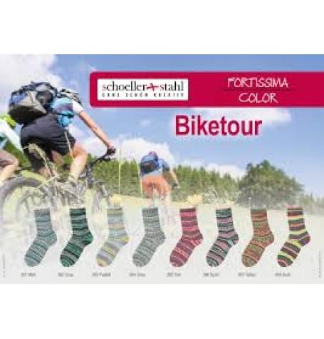 Fortissima Colour Bike Tour Sock Yarn