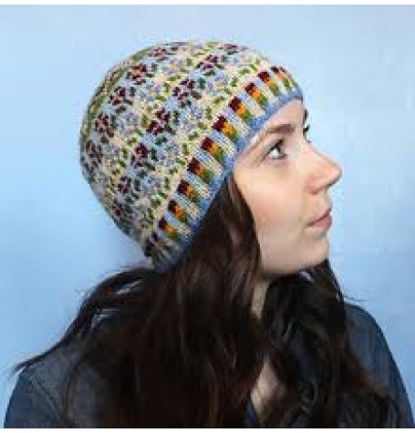 Jamieson & Smith Hat Kit - Peerie Flooers