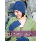 The Haverhill Collection - Walnut Square Fingerless Mitts and Hat