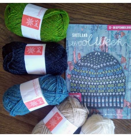 Jamieson & Smith Hat Kit - Shetland Wool Week