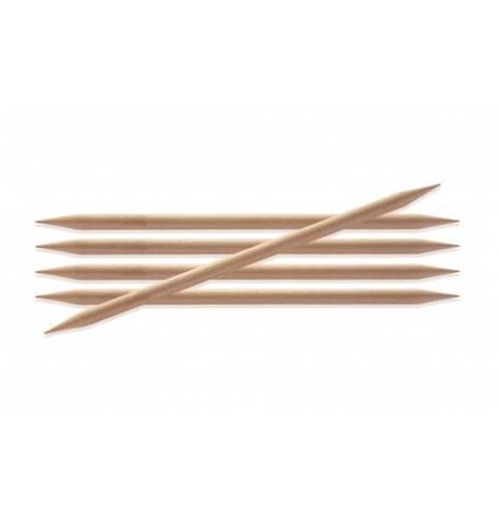 KnitPro Basix Birch DPNs 15 cm