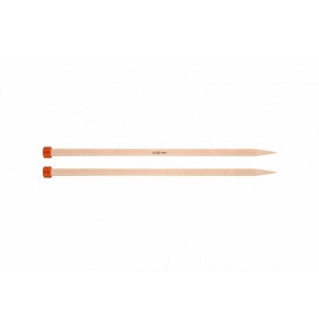 KnitPro Basix Birch 25cm Straight