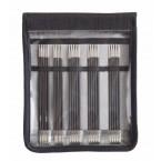 KnitPro Karbonz 15cm DPN Set