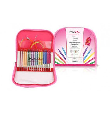 KnitPro Spectra Trendz Interchangeable Deluxe Set