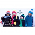 MillaMia Pattern - Clementin Hat & Scarf