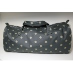 Hobbygift Grey Spot Knitting Bag