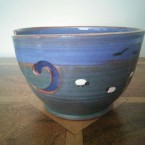 Hand Thrown Ceramic Yarn Bowls