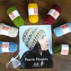 Jamieson & Smith Hat Kit - Peerie Flooers