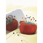 Tomato Pin Cushion and Tin