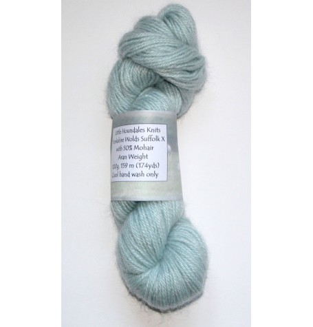 Yorkshire Wolds Aran - Suffolk X with 50% Mohair