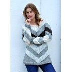 Chevron Sweater Kit - from The Killing III