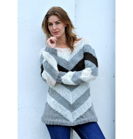 Chevron Sweater Kit - from 'The Killing III' TV Programme