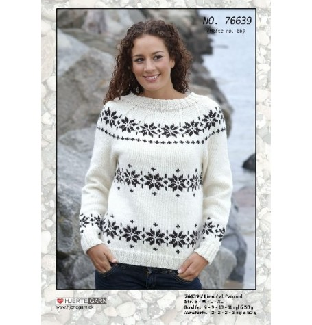 Snowflake Sweater Kit - from 'The Killing' TV Programme