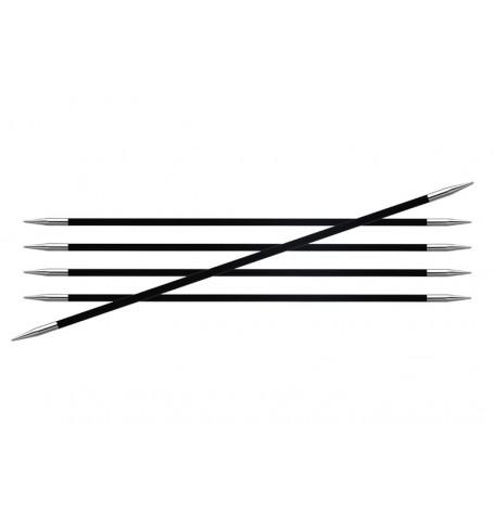 KnitPro Karbonz DPNs 15 cm
